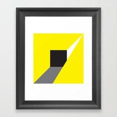 Zap! Framed Art Print