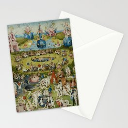 The Garden of Earthly Delights - Hieronymus Bosch Stationery Cards