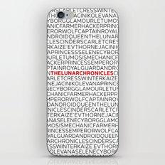 Type: Lunar Chronicles iPhone & iPod Skin