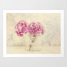 Flower Light  Art Print