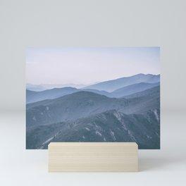 Hills landscape Mini Art Print
