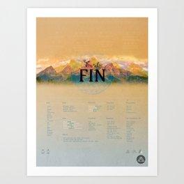 MAYA Art Print