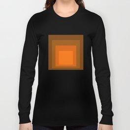Block Colors - Orange Long Sleeve T-shirt