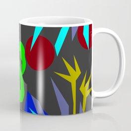 Flamingo jungle negative Coffee Mug
