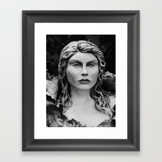 bust of psyche Framed Art Print