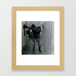 String Theory: Collapsing Wavefunction, Third Tangible Framed Art Print
