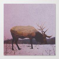 elk Canvas Prints featuring Elk by Andreas Lie