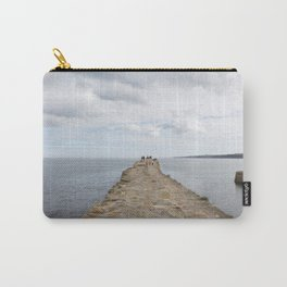 Sea wall St. Andrews Carry-All Pouch