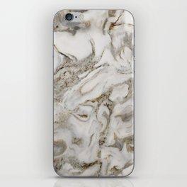 Crema marble iPhone Skin