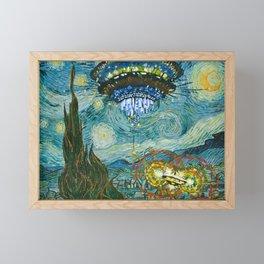 Starry Encounters Framed Mini Art Print