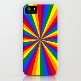 Eternal Rainbow Infinity Pride iPhone Case