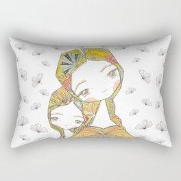 Floral Motherhood Rectangular Pillow