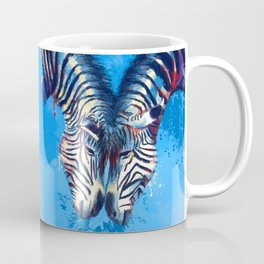 Friendship - Zebra portraits Coffee Mug