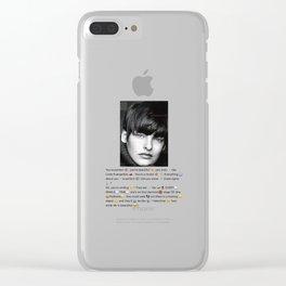 Linda Evangelista Aja Clear iPhone Case