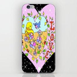 """Love Grows"" iPhone Skin"