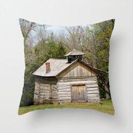 Prairie Grove Battlefield - The Latta Homestead, Established in 1834, No. 5 of 5 Throw Pillow