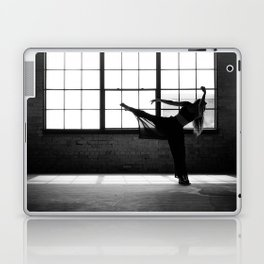 Ballet Dancer Silhouette Laptop & iPad Skin