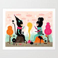 We Make Magic! Art Print