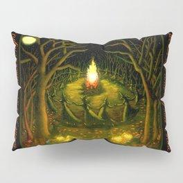 Halloween Bonfire Pillow Sham