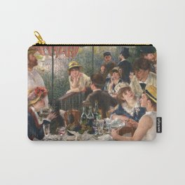 Luncheon of the Boating Party by Renoir Carry-All Pouch