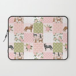 Australian Cattle Dog cheater quilt pattern dog lovers by pet friendly Laptop Sleeve