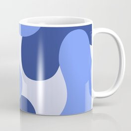 Blue Camo  Coffee Mug