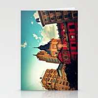madrid Stationery Cards featuring Madrid Sky by Melanie Ann