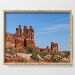 Three Gossips Arches National Park Serving Tray