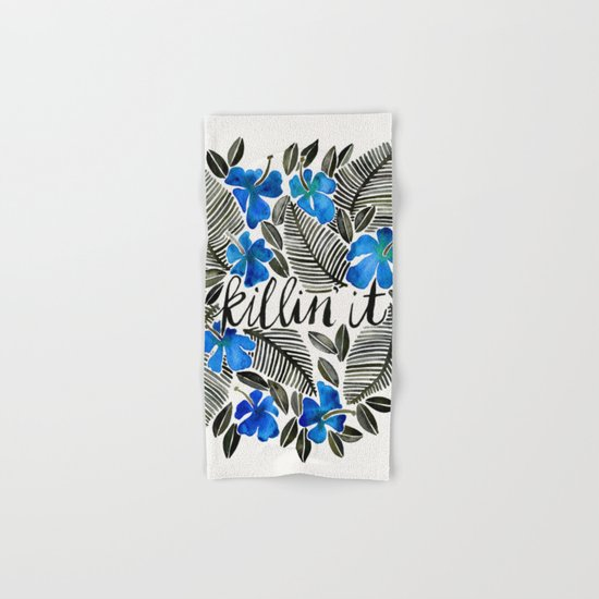 Killin' It – Tropical Blue Hand & Bath Towel