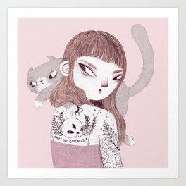 Cats > Catcalls Art Print
