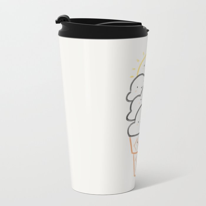 Everyday is like Sundae Metal Travel Mug