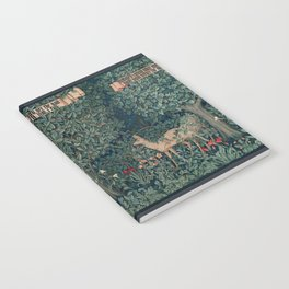 William Morris Greenery Tapestry Notebook