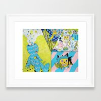 health Framed Art Prints featuring Mental Health by Frenemy