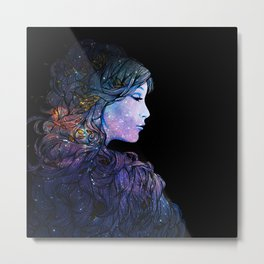Galaxy Queen Metal Print