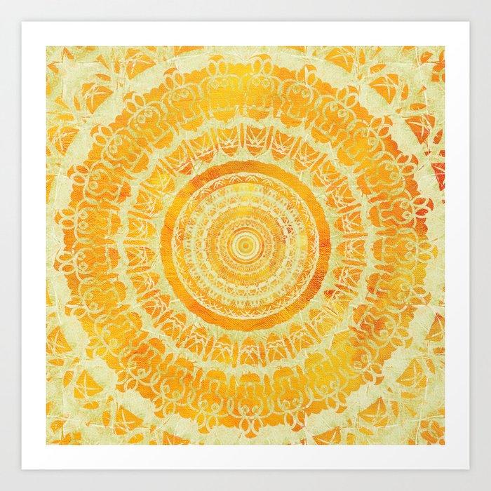 Sun Mandala 4 Kunstdrucke