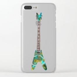 Guitar 1 Clear iPhone Case