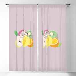 Juicy fruit Blackout Curtain