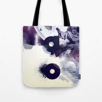 freud Tote Bags featuring freud' ego by ferzan aktas