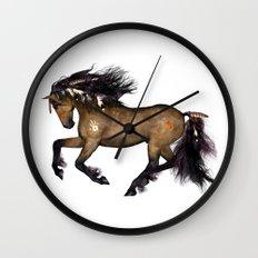 HORSE - Cherokee Wall Clock