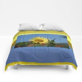 Sunflower Color Palette Comforters
