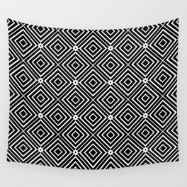 Abstract Geometric Tiles Pattern Wall Tapestry