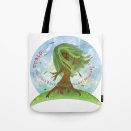 Windy Willow Tote Bag