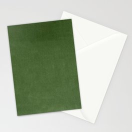 Sage Green Velvet texture Stationery Cards