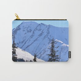 Back-Country Skiing  - V Carry-All Pouch
