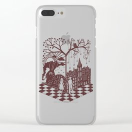So close yet so far away Clear iPhone Case