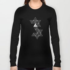 Unrolled D20 Long Sleeve T-shirt