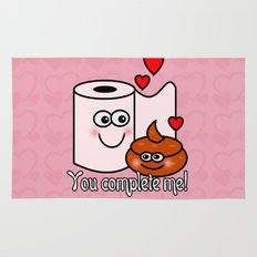 You Complete Me! Rug