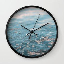 Sunset Water Wall Clock