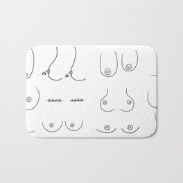 Boobies Bath Mat
