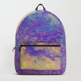 Liquid Glass Multicolour Backpack